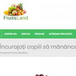 FRUITS LAND - Catalog Produse Romanesti