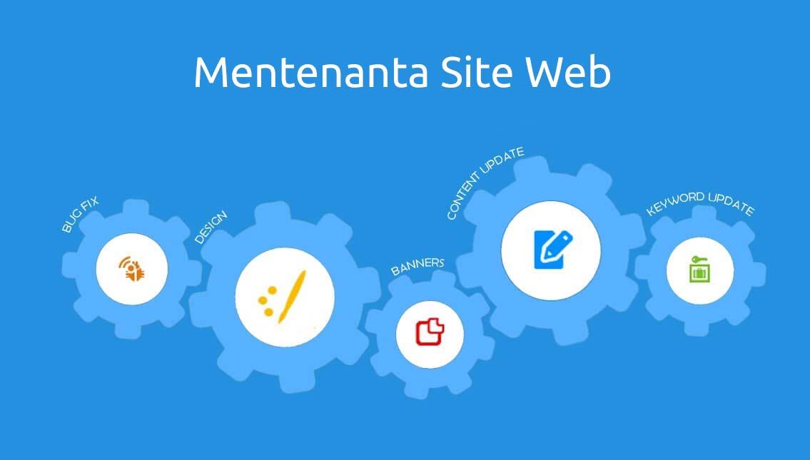 Mentenanta site web
